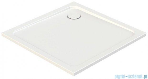 Sanplast Free Line brodzik kwadratowy B/FREE 80x80x2,5 cm + stelaż 615-040-4020-01-000