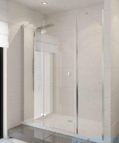 New Trendy Modena Plus drzwi prysznicowe 180cm lewe szkło przejrzyste EXK-1135/EXK-1043L