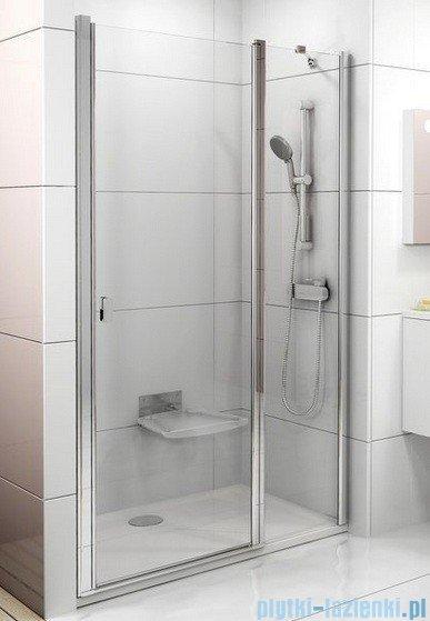 Ravak Chrome Drzwi prysznicowe CSD2-100 polerowane aluminium+transparent 0QVACC00Z1