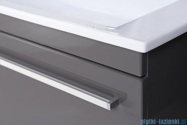 Antado Spektra ceramic szafka podumywalkowa 82x43x40 szary połysk wolfram grey FDF-AT-442/85GT-56