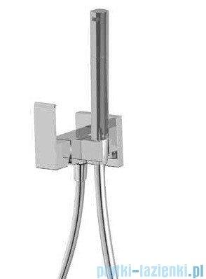 Tres Slim-Tres Bateria podtynkowa do bidetu lub WC do montażu na płycie gipsowej chrom 006.123.02