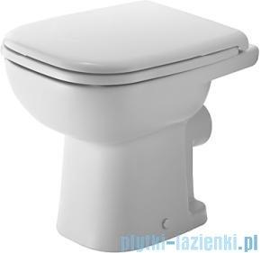 Duravit D-Code miska toaletowa stojąca lejowa do niezależnego dopływu wody 350x480 mm 210809 00 02