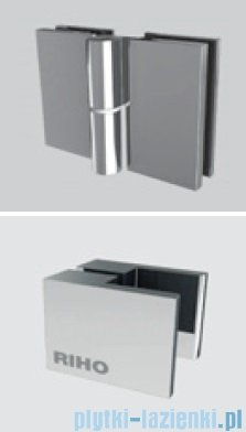 Riho Kabina prysznicowa Scandic Lift M201 90x90x200 cm LEWA GX0203201