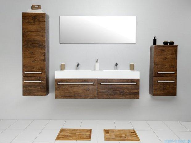 Antado Spektra szafka z umywalką, wisząca 140 stare drewno FDF-442/7GT-50 + FDF-442/7GT-50 + UNAM-1404D
