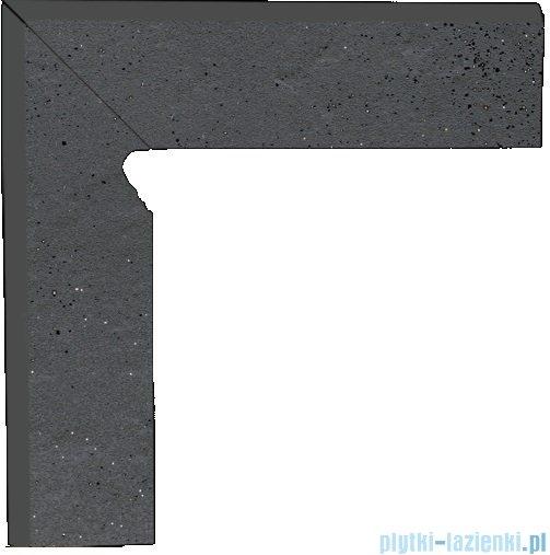 Paradyż Semir grafit klinkier cokół schodowy lewy 30x30