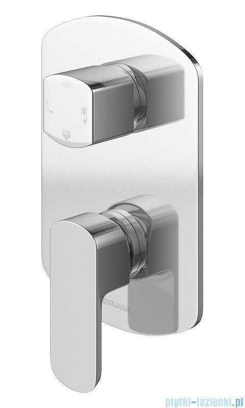 Kohlman Foxal zestaw wannowo-prysznicowy chrom QW211FR30-009