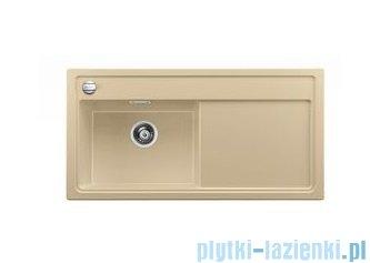 Blanco Zenar XL 6 S  Zlewozmywak Silgranit PuraDur komora lewa kolor: szampan z kor. aut. i jesionową deską do krojenia 519246