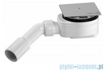 Radaway Eos II KDD kabina prysznicowa 100x80 szkło przejrzyste + brodzik Argos D + syfon 3799462-01L/3799460-01R/4AD810-01