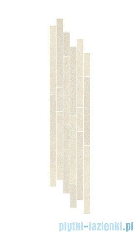 Paradyż Duroteq bianco mix paski listwa 14,8x71