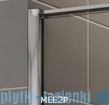 Sanswiss Melia MEE2P Kabina prostokątna 80x90cm przejrzyste MEE2PG0801007/MEE2PD0901007