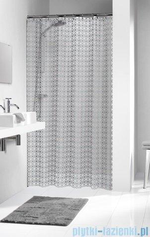 Sealskin Hammam Silver zasłona prysznicowa tekstylna 180x200cm 210861318