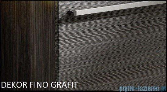 Antado Spektra ceramic szafka podumywalkowa 2 szuflady 82x43x50 fino grafit FDF-AT-442/85/2GT-46