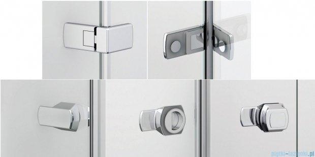 Sanswiss Melia ME31P Kabina prysznicowa prawa 140x100cm przejrzyste ME31PD1401007/MET3PG1001007