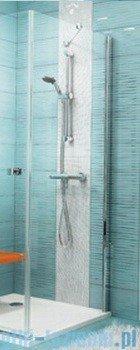 Ravak Ścianka prysznicowa stała SmartLine SMPS-90 Prawa chrom+transparent 9SP70A00Z1