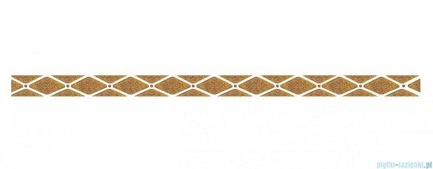 Paradyż Sabro gold poduszki listwa ścienna 3x59,5