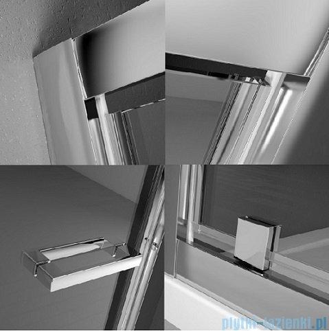 Radaway Twist DW+S Kabina prysznicowa 80x100 szkło brązowe 382001-08/382013-08