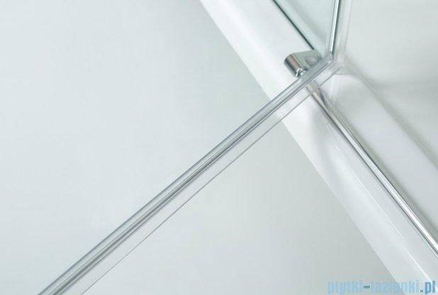 Sanplast kabina narożna kwadratowa lewa przejrzysta  KNDJ2L/AVIV-100 100x100x203 cm 600-084-0060-42-401
