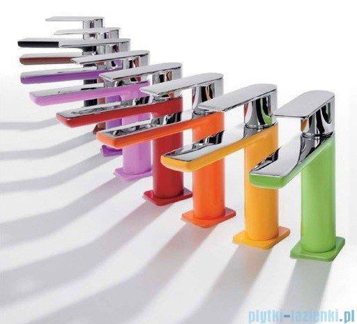 Tres Loft Colors Bateria umywalkowa z korkiem automatycznym kolor czerwony 200.103.01.RO.D