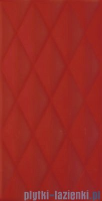 Paradyż Bellicita rosa pillow struktura płytka ścienna 30x60