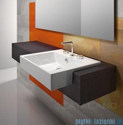 Catalano Premium 55 umywalka wpuszczana w blat 55x47 cm biała 1LSVP00