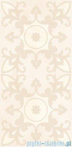 Paradyż Sabro bianco geometryk inserto ścienne 29,5x59,5