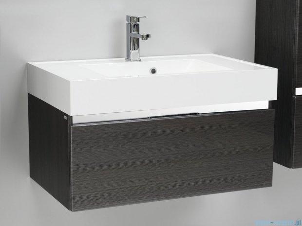 Antado Cantare szafka z umywalką 80x50x33 grafit (fino) FSM-342/8GT-46/46 + UNA-800