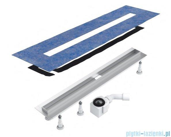 Schedpol Slim Lux Odpływ Liniowy Z Maskownicą Steel Slim 60x35x95cm Olsl60slx Plytki Lazienki