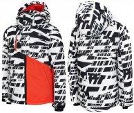 4F JKUMN002 Kurtka narciarska zimowa CIEPŁA r. 134