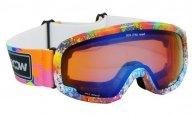 WOOSH W98-1 Gogle narciarskie UVA 400 UVB UVC