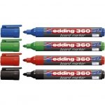 Marker do tablic Edding 360 [4szt]