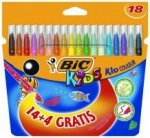 Flamastry Bic Kid Couleur [18szt]