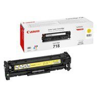 Toner Canon CRG718Y do LBP-7200/7210/7660/7680 | 2 900 str. | yellow
