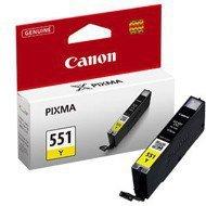 Tusz Canon CLI-551Y [ 7ml ] oryginał żółty