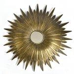 Lustro słońce - Belldeco Barok Old - 68,5 cm