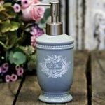 Dozownik do mydła w płynie Chic Antique - LE BAIN - szary