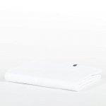 Prześcieradło bawełniane HOP DESIGN PURE - białe