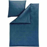 Pościel Estella mako-interlock-jerse<br />y - SILAS - niebieska