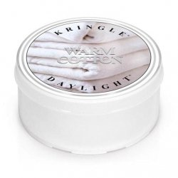 WARM COTTON - świeczka zapachowa KRINGLE CANDLE