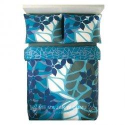 Pościel Benetton Jungle Flowers Niebieska