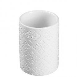 Kubek łazienkowy Möve - Capri - biały