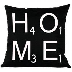 Poduszka French Home - Home - czarna