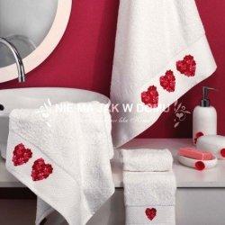 Komplet ręczników Tac - Serduszka 2 - 3 szt.