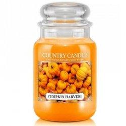 PUMPKIN HARVEST - świeca zapachowa COUNTRY CANDLE - 150 godzin