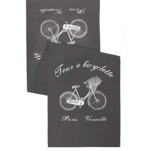 Bieżnik French Home - Bicyclette L - szary