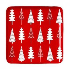 NOELLA TREES - świąteczny talerz Ladelle - 18 cm