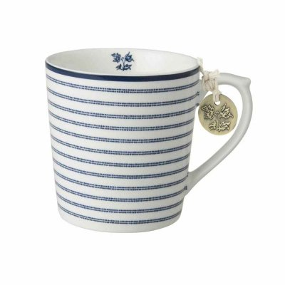 Laura Ashley BLUEPRINT - kubek 320 ml - CANDY STRIPE