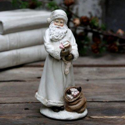Figurka Chic Antique - Mikołaj z prezentami