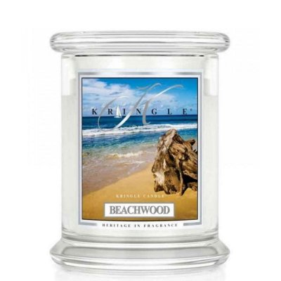 BEACHWOOD - świeca zapachowa KRINGLE CANDLE - 75 godzin