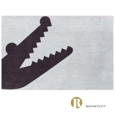 Dywanik łazienkowy Rhomtuft - Croc - szary