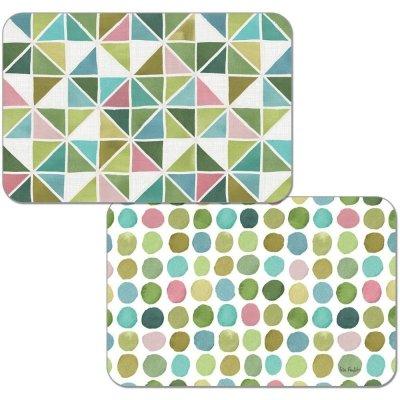 Podkładka na stół Cala Home (dwustronna) - Greens - 28,5x43 cm